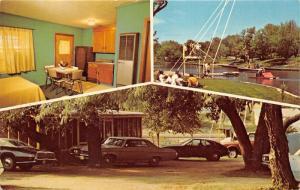 Kingsland Texas~Bonny Cove Resort on Lake LBJ~3 Views-Boats-Room Suite-70s Cars
