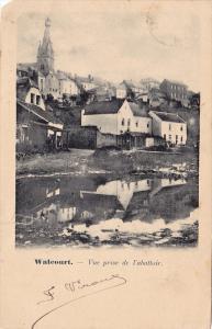 WALECOURT, Vue prise de l'abattoir, Namur, Belgium, PU-1902