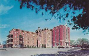 Exterior,  L'Hopital St-Vincent de Paul,  Sherbrooke,  Quebec,  Canada,  40-60s