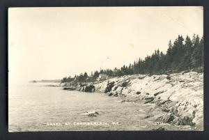 Chamberlain, Maine/ME Postcard, Rocky Shoreline