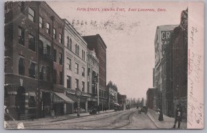 East Liverpool, Ohio - Fifth Street, Looking East - 1907
