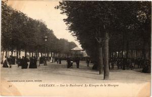 CPA ORLÉANS-Sur le Boulevard-Le Kiosque de la Musique (266086)
