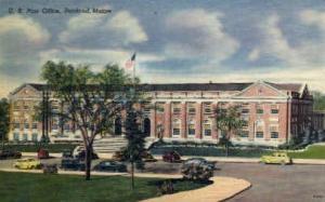 U.S. Post Office Portland ME Unused