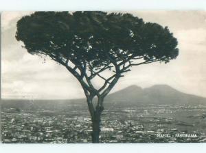 old rppc NICE VIEW Napoli - Naples Italy i2195