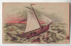 P641 JLs 1909 sailboat, a fair wind very nice used