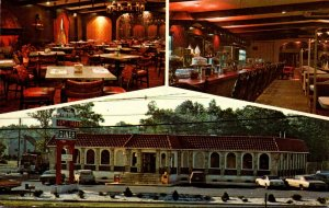 New Jersey Parsipanny The Par-Troy Restaurant DinerShowing Dining & Lounge