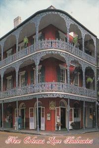 Louisiana New Orleans La Branche Balcony 700 Royal Street