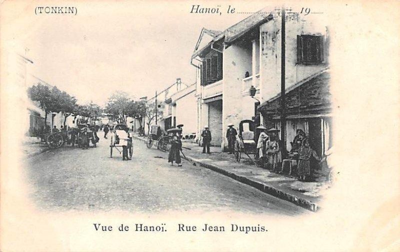 Rue Jean Dupuis Hanoi Vietnam, Viet Nam Unused