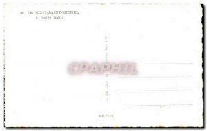 Le Mont Saint Michel - Vue Generale - at high tide - Old Postcard