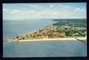 Point Clear, Alabama/AL Postcard, Aerial Of Grand Hotel