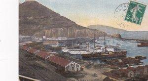 ORAN, Algeria, PU-1920; Le Port & Le Santa-Cruz