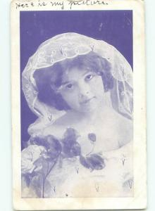 Divided-Back PRETTY WOMAN Risque Interest Postcard AA8328