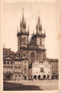 BR45417 Eglise de Tyn Prag czech republic