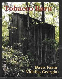 Georgia, Vidalia, Davis Farm, Tobacco Barn, unused