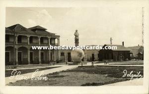 venezuela, MARACAIBO, Plaza Colón, Columbus Monument (1930s) Delgado RPPC
