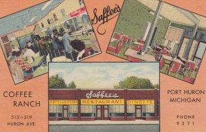 PORT HURON , Michigan , 1930-40s ; Saffee's Cofee Ranch