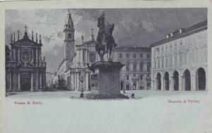 Ricordo Di Torino, Piazza S. Carlo, Torino (Piedmont), Italy, 1910-1920s