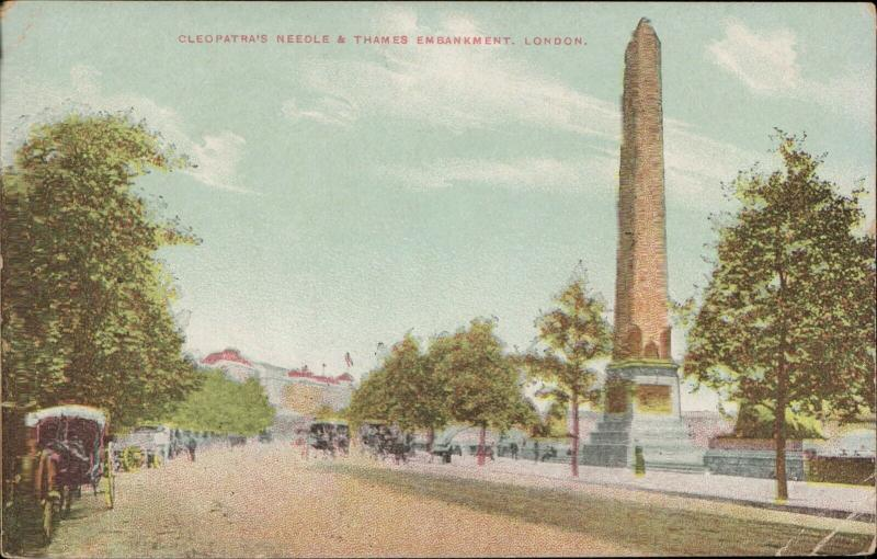 Cleopatra's Needle Thames Embankment London