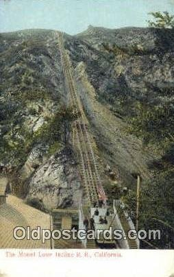 Mt. Lowe Incline RR Unused