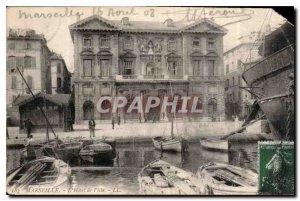 Postcard Old Marseille City Hall