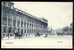 Whitehall London ENGLAND unused c1910