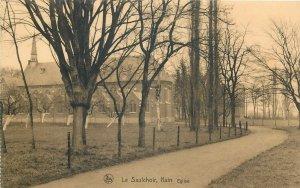 Belgium Le saulchoir eglise Postcard
