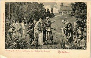 CPA AK Hildesheim- Grundung des Bisthums GERMANY (948705)