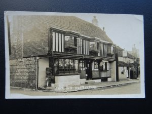 Sussex ALFRISTON The Star Inn c1930's RP Postcard by Stafford