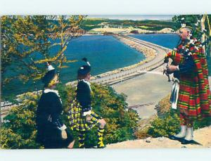 Pre-1980 TOWN VIEW SCENE Cape Breton Nova Scotia NS p9845