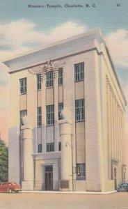 CHARLOTTE , North Carolina , 30-40s ; Masonic Temple