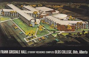 Frank Grisdale Hall , Olds College , OLDS , Alberta  , Canada , 50-60s