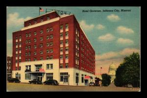 HOTEL GOVERNOR JEFFERSON CITY MISSOURI