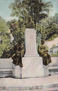 New York Syracuse Hamilton White Monument In Fayette Park