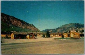 Glenwood Springs, Colorado Postcard SILVER SPRUCE MOTOR LODGE Roadside c1950s