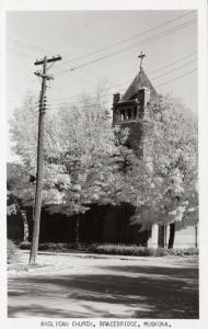 RP: BRACEBRIDGE , Muskoka , Ontario , 30-40s ; Anglican Church