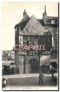 Postcard Old Honfleur Lieutenace