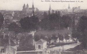 DIJON, Cote d'Or, France, 1900-1910s; Vue Prise De L'Eglise Sainte-Chantal