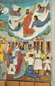 Haiti Port-au-Prince Ascension Mural Holy Trinity Cathedral Episcopal