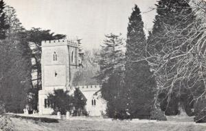 Vintage Poole Dorset Postcard, The Church of St Mary, Brownsea Island U68