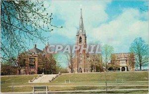 Modern Postcard St Mary's Church Manchester
