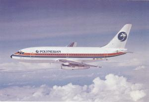 POLYNESIAN Airlines Boeing 737 Jet Airplane , 50-70s