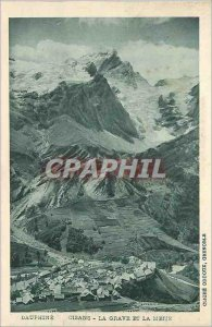 Old Postcard Dauphine Oisans serious and meije
