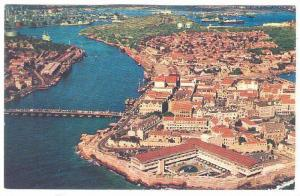 Air view showing Hotel Curacao Intercontinental,  Curacao,    40-60s