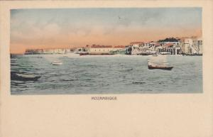 MOZAMBIQUE, Africa, 1900-1910's; Bay Scene