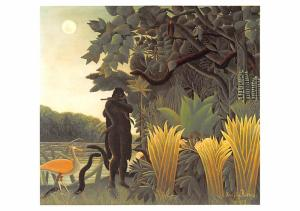 Henri Rousseau - Serpents