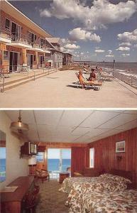 4436  M Wells Beach 1970's The Beach Front Lodge Motel