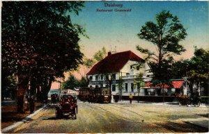 CPA AK Duisburg- Restaurant Grunewald GERMANY (902015)
