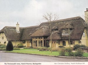 The Portsmouth Arms Hatch Warren Basingstoke Postcard
