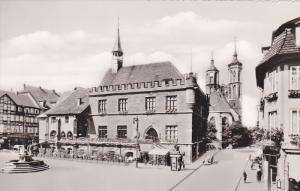 RP, Marktplatz, Rathaus Und Johanniskirche, GOTTINGEN (Lower Saxony), Germany...