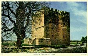 cyprus, LIMASOL, Kolossi Castle (1960s) Raphael Tuck 120 Postcard